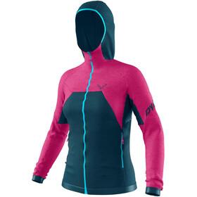 Dynafit Tour Wool Thermal Bluza Kobiety, różowy/petrol